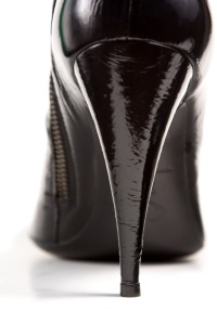 black_high_heel